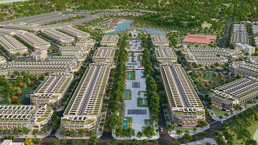 tổng thể khu nghĩ dưỡng De Lagi Bình Thuận